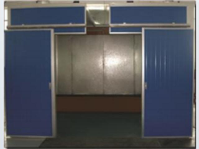 三面水帘喷漆室